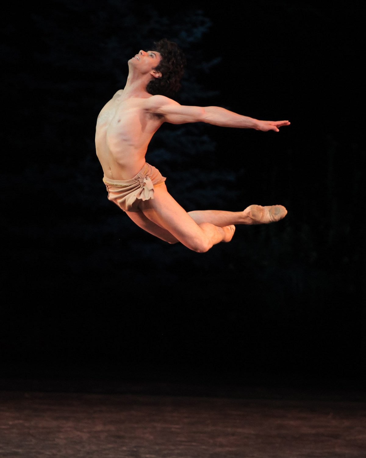 "Herman Cornejo in ""Diana and Acteon."" Photograph by Erin Baiano"
