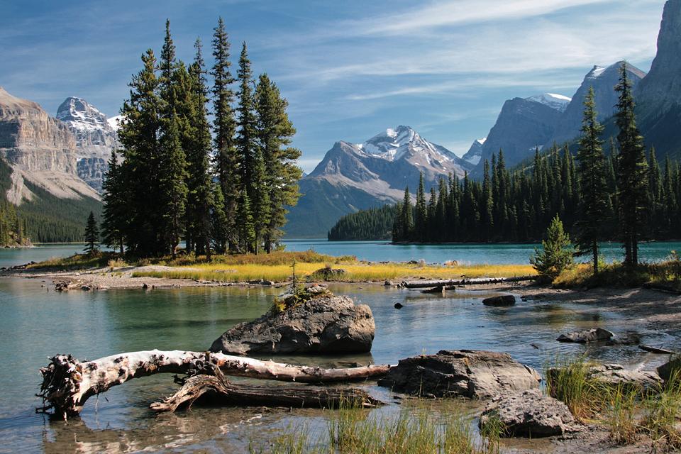 № 9 - Spirit Island, Alberta, Canada