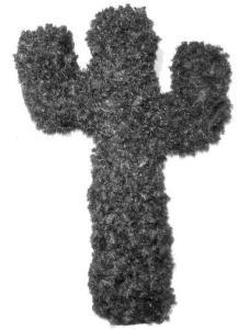 Choinka w kształcie kaktusa