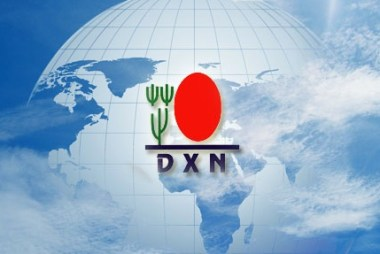 e-world dxn logo