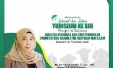 Pengumuman Yudicium FKIP UNW Mataram Tahun.2020
