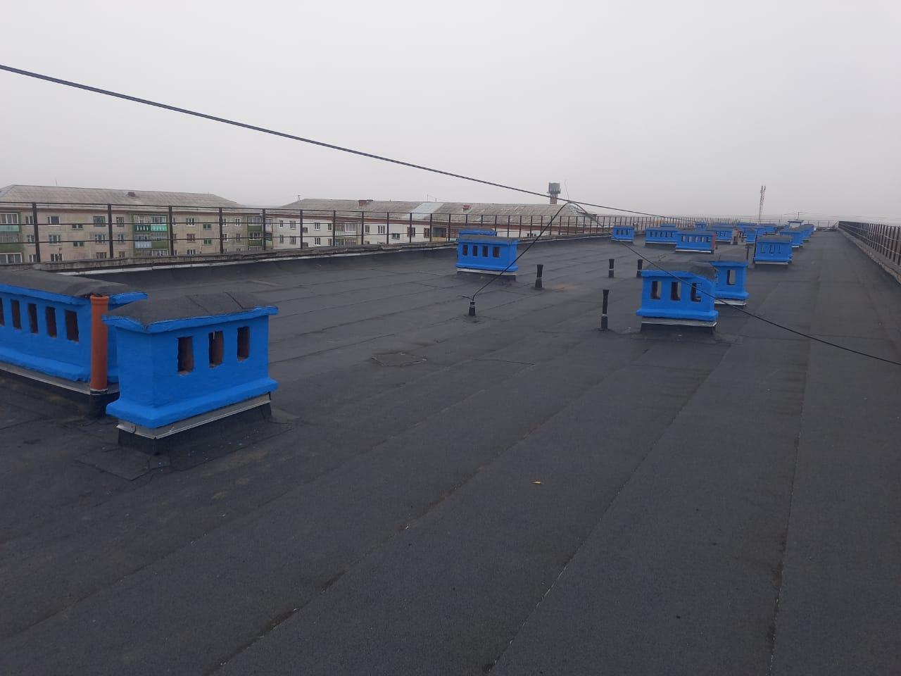 Фото крыши после ремонта