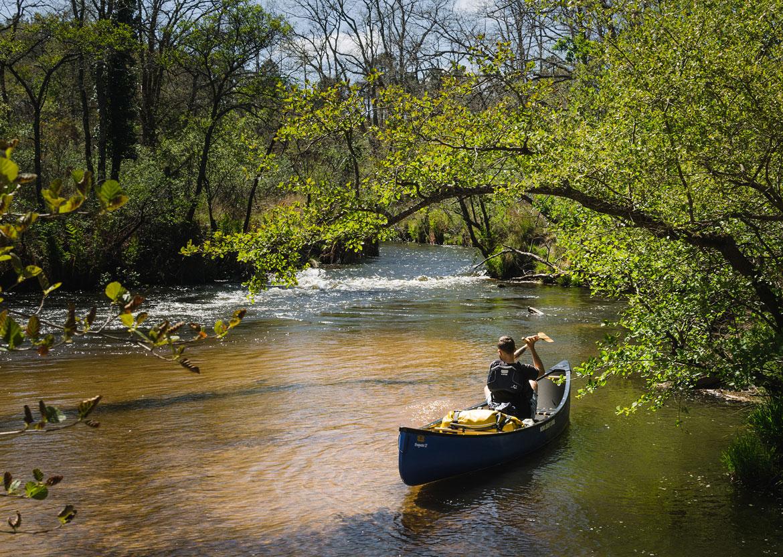 FL'eau canoë nature