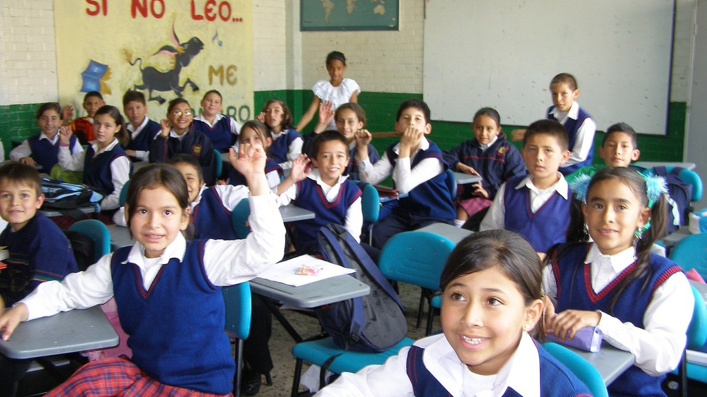 students in Colombia