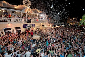Florida Keys New Year s Eve to Feature Lighthearted  Drops      Thousands of revelers gather at the Bourbon St  Pub New Orleans House  complex to