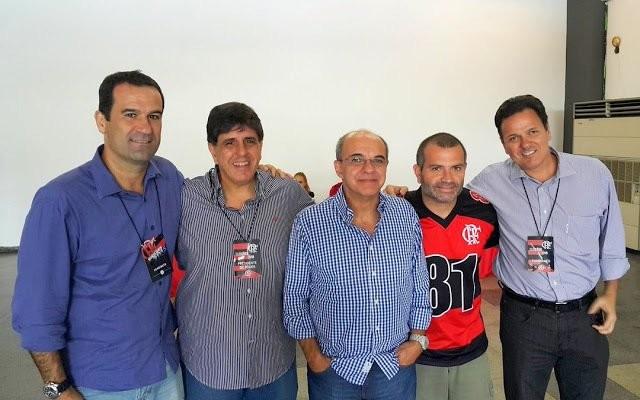 Peladeiro, fanático e conciliador: conheça Ricardo Lomba, o novo VP de futebol do Fla