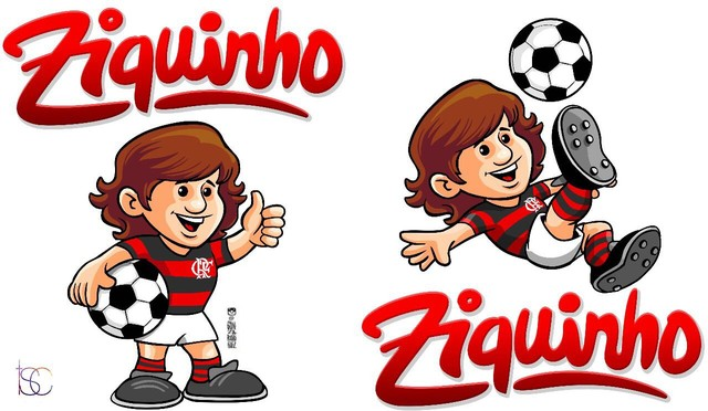 Flamengo lança linha de produtos infantis Ziquinho