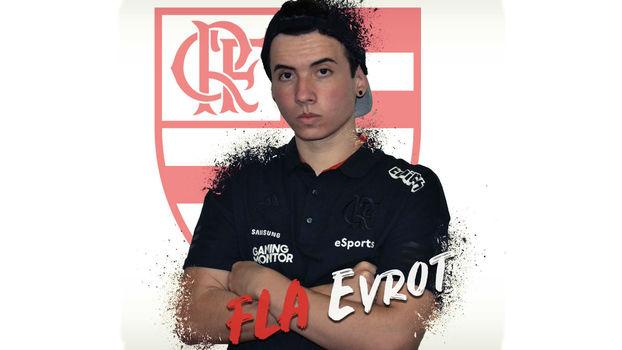 'League of Legends': Evrot é o jogador da rota do meio do Flamengo eSports