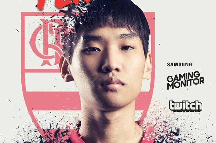 Coreano Jisu é o novo toplaner do Flamengo eSports