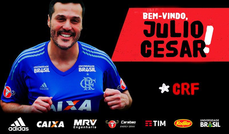 Júlio César é do Flamengo!