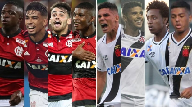 'Garotos dos milhões' comandam Flamengo e Vasco em clássico no Maracanã