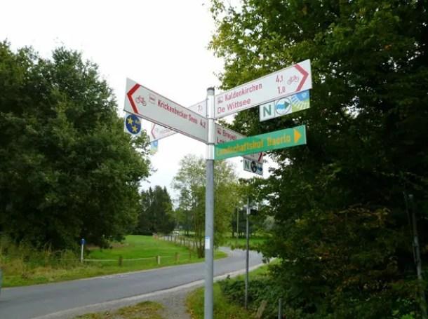 Radeln NRW Niederrhein BahnRadweg Kreis Viersen