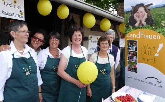 Landfrauen Ortsverband Kaldenkirchen - Aktiv auf der Höfetour 2015 in Nettetal am Niederrhein NRW
