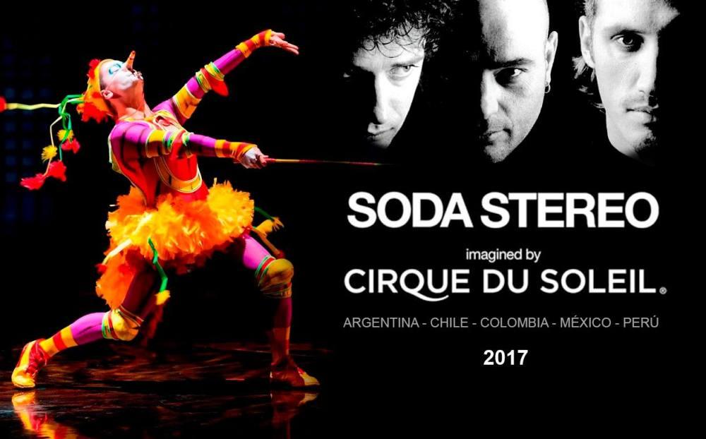 SE PRESENTÓ #SODACIRQUE: Espectáculo de Cirque Du Soleil y Soda Stereo a estrenarse en 2017 (2/6)