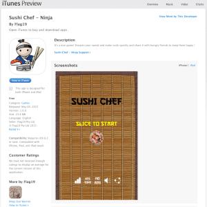 Sushi Chef Ninja