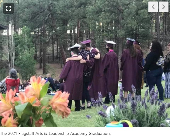 Photo Of FALA Graduates, AZ Daily Sun Article August, 2021