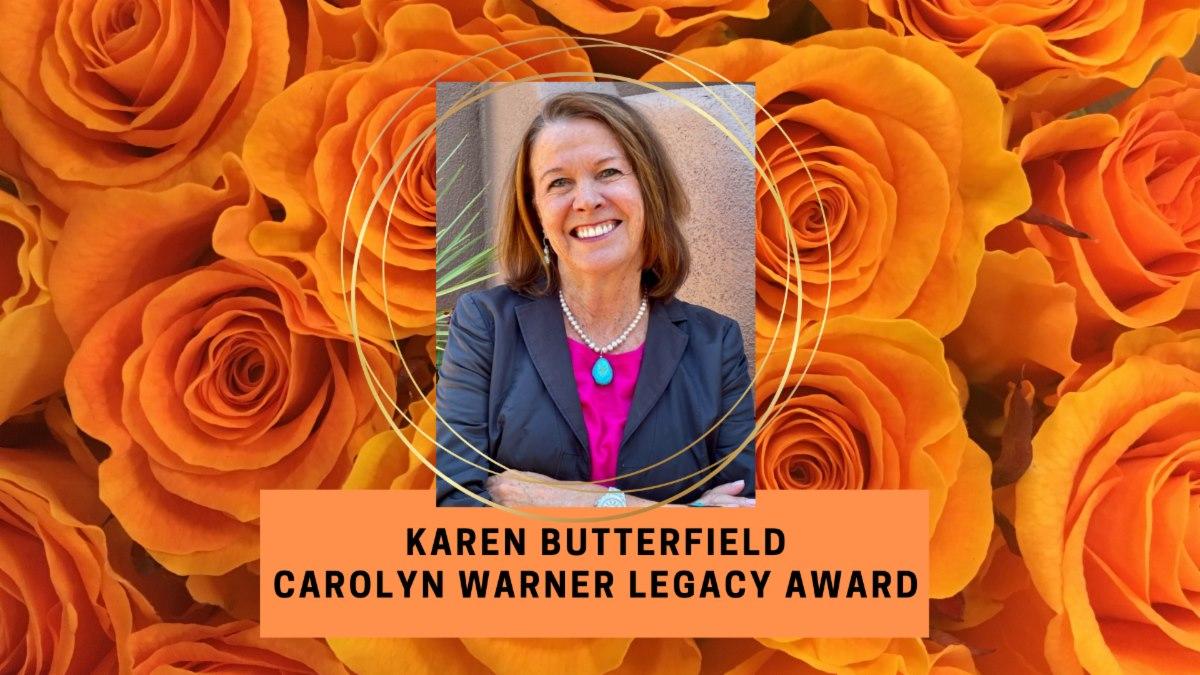 Karen Butterfield Receives Carolyn Warner Legacy Award