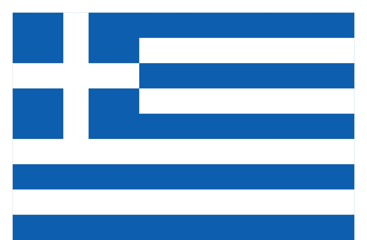 Greece Flag Coloring Pages