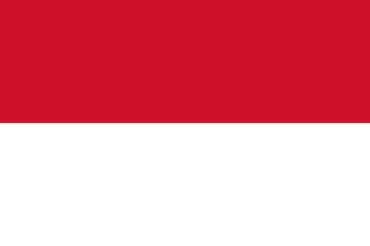 Indonesia Flag Coloring Pages