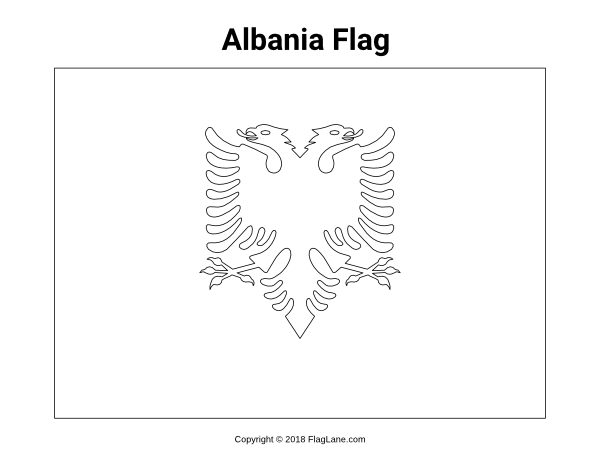 Free European Flag Coloring Pages