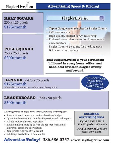 flaglerlive advertising rates sheet kit