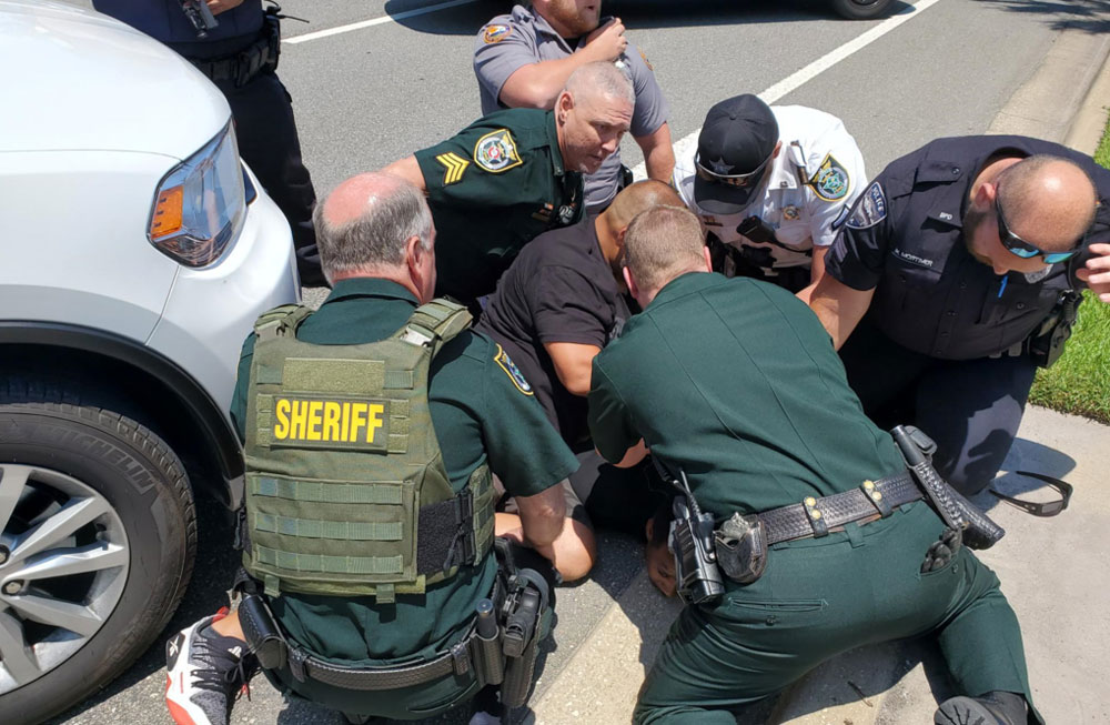 The arrest. (FCSO)