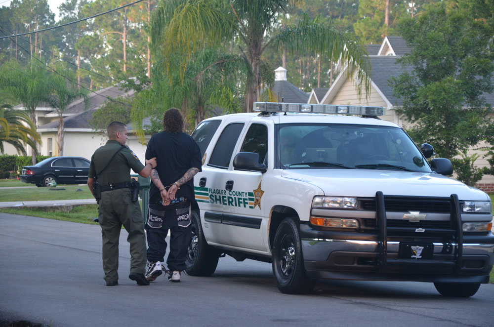 The reporting of crime stories can be unnecessarily harmful when highlighting a passing arrest that has few ramifications or follow-ups. (© FlaglerLive)