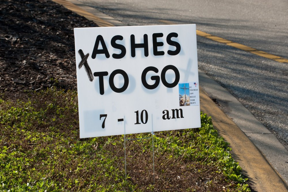 ashes to go
