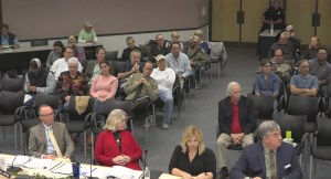 The meeting in Palatka today.