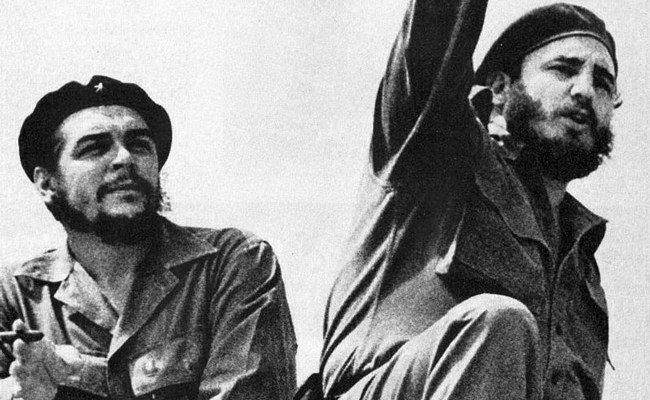 Today marks the 56th anniversary of the launching of the fateful Bay of Pigs invasion, when a naive President Kennedy green-lighted the invasion of Cuba by 1,500 exiles in an attempt to overthrow Fidel Castor, above right, seen here with Che Guevara.