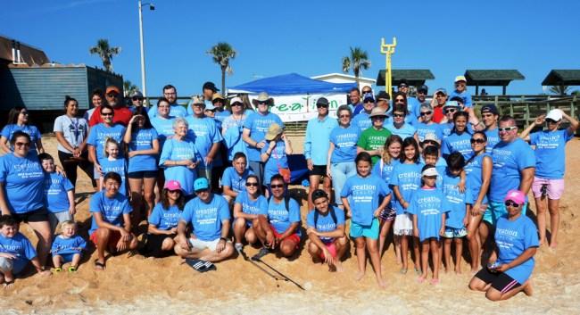 beach clean-up florida hospital
