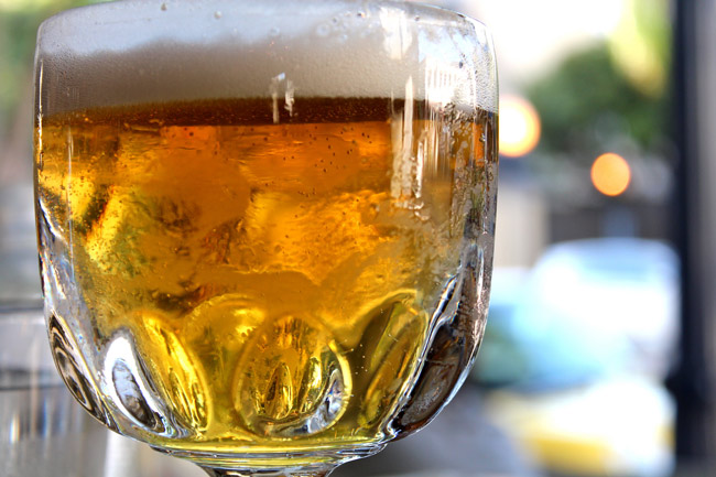 It's cruel to be so taunted and to have to wait until evening, but come 5 p.m. you can head for European Village for a mini beerfest featuring Florida brewers. See below. (Kevin Reese)