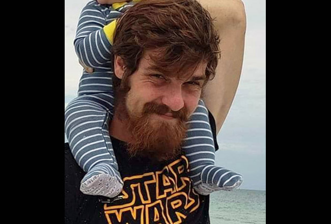 Justin Blake in an image issued by the Flagler County Sheriff's Office.