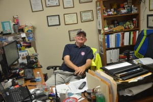 Bob Pickering is Flagler County Emergency's weather specialist. (c FlaglerLive)