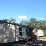 The Burnsed home in the Mondex, where the family has lived since 2007. (c FlaglerLive)