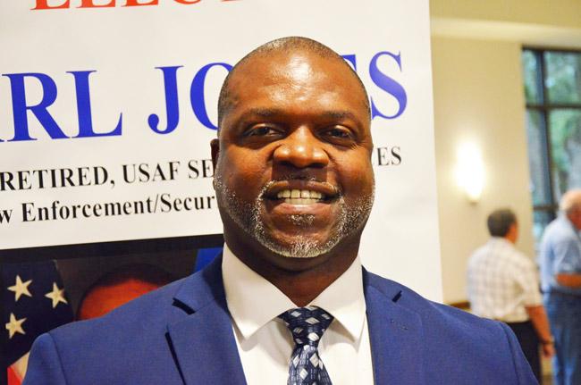carl jones flagler county school board