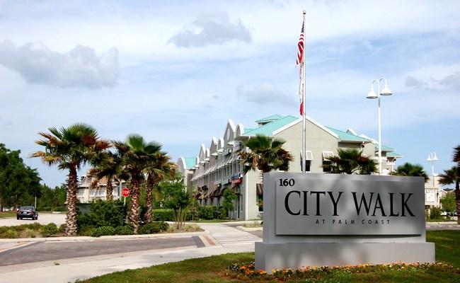 Palm Coast's City Walk in Foreclosure