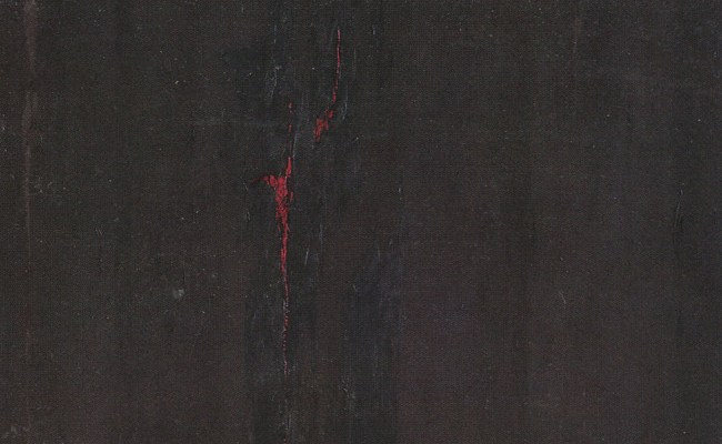 Detail from a painting by Clyfford Stills, 1948-49.