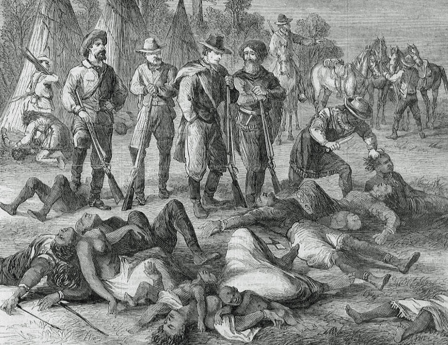"""Not quite """"celebrating"""" Columbus Day: More like a memorial for the first in a series of European genocides of the Americas' native population."""