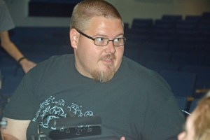Matanzas percussion teacher Jared Allen is conducting a 20-piece live pit orchestra.