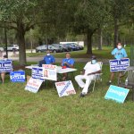 No wins for Democrats in Flagler, mirroring a poor showing across the state. (© FlaglerLive)