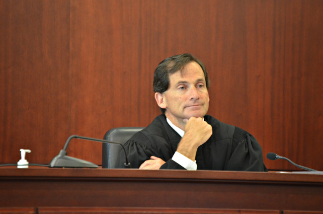 Circuit Judge Dennis Craig. (© FlaglerLive)