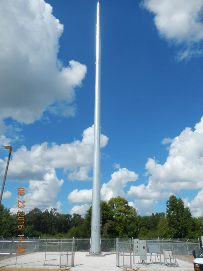 A Diamond Cell tower similar to the pone going up at the Palm Coast utility plant behind Heroes Park on Palm Coast Parkway. (Diamond Communications)