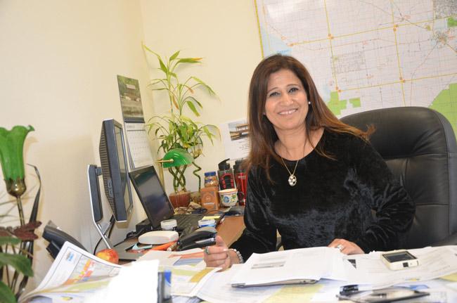 Faith al-Khatib, the Flagler County engineer. (© FlaglerLive)