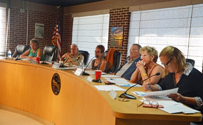 There's more tax revenue in Flagler Beach, but city commissioners are divided over how or whether to spend it. (© FlaglerLive)