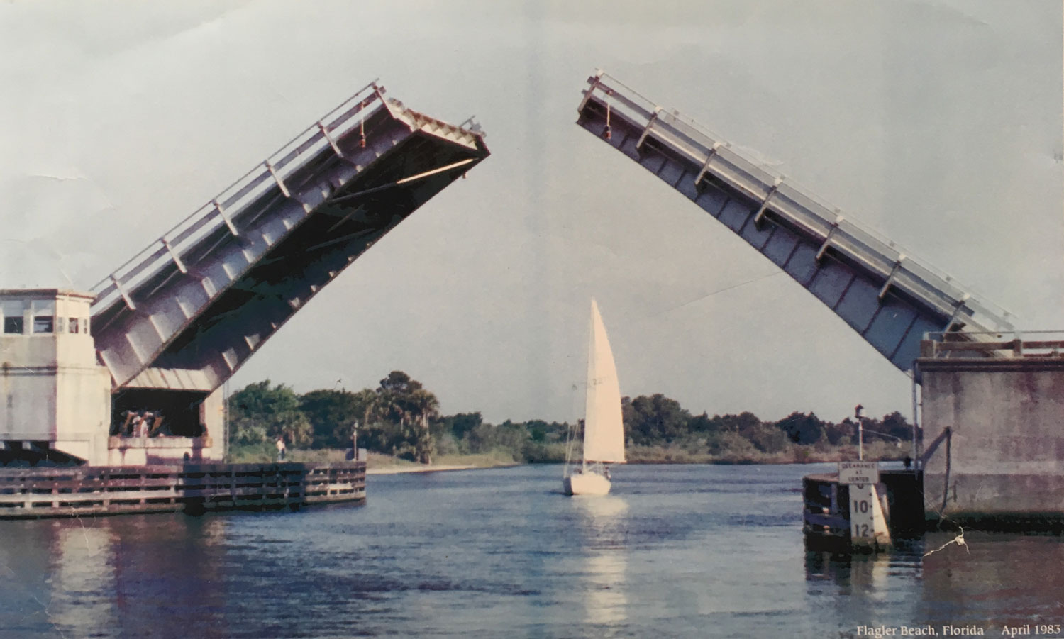 Remember the old Flagler Beach drawbridge? From 1983, courtesy of the Flagler Beach Museum and Commissioner Rick Belhumeur.