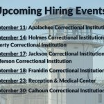 Florida prisons are, of course, hiring. A notice on the Department of Corrections' Facebook page.