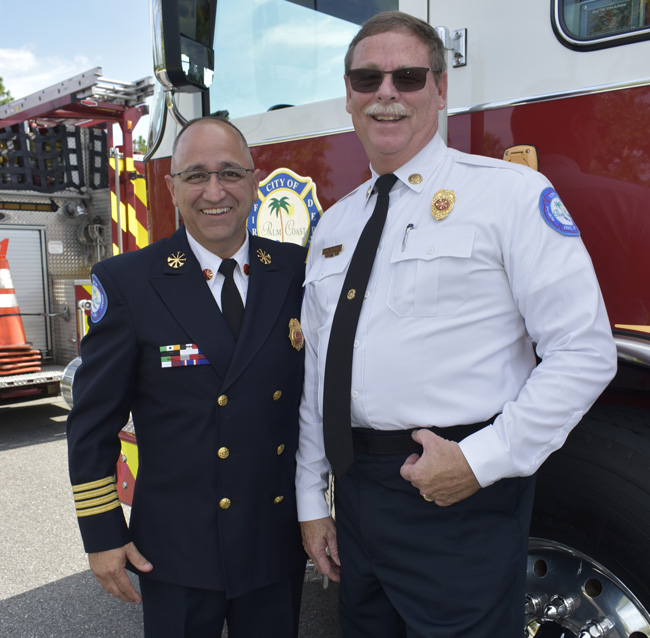 Jerry forte palm coast fire chief
