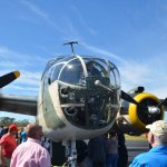 After a covid-imposed hiatus last year, Freedom Fest returns to the Flagler County Executive Airport on Independence Day weekend with vintage World War II aircraft, among many other exhibits, and opportunities for visitors to fly above the county. (© FlaglerLive)