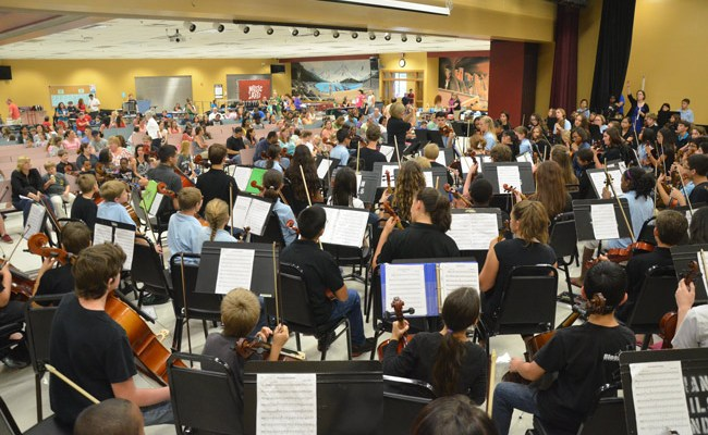 flagler touth orchestra open house